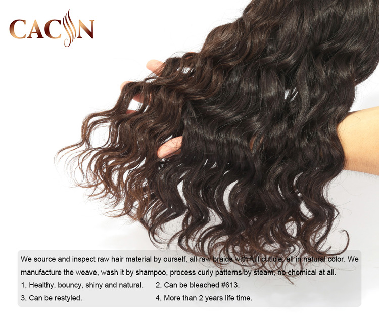Top quality raw cuticle aligned virgin indian hair,indian curly hair raw virgin human hair from very young girls