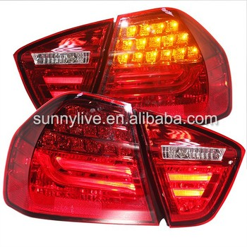 For Bmw E90 3 Series 320i 323i 325 330 335 Led Tail Lamp 05-08 Red ...