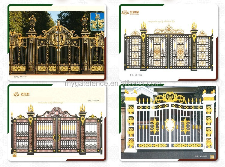 Indian Style Automatic Sliding Gate Design,Metal Yard Gate,Front ...