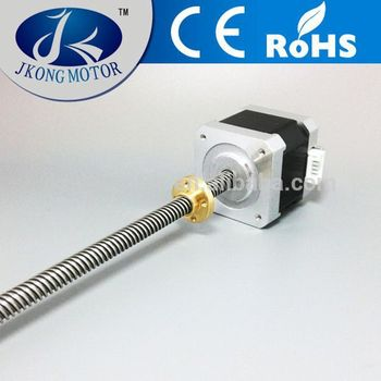 Stepping Motor 42mm T8 R8 Lead Stepper With Shaft Tr8 8