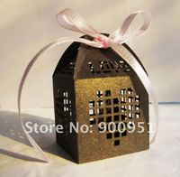 decorate laser cut wedding favor boxes buy direct from China factory