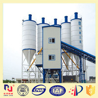 easy on-site assembly concrete mixing plant