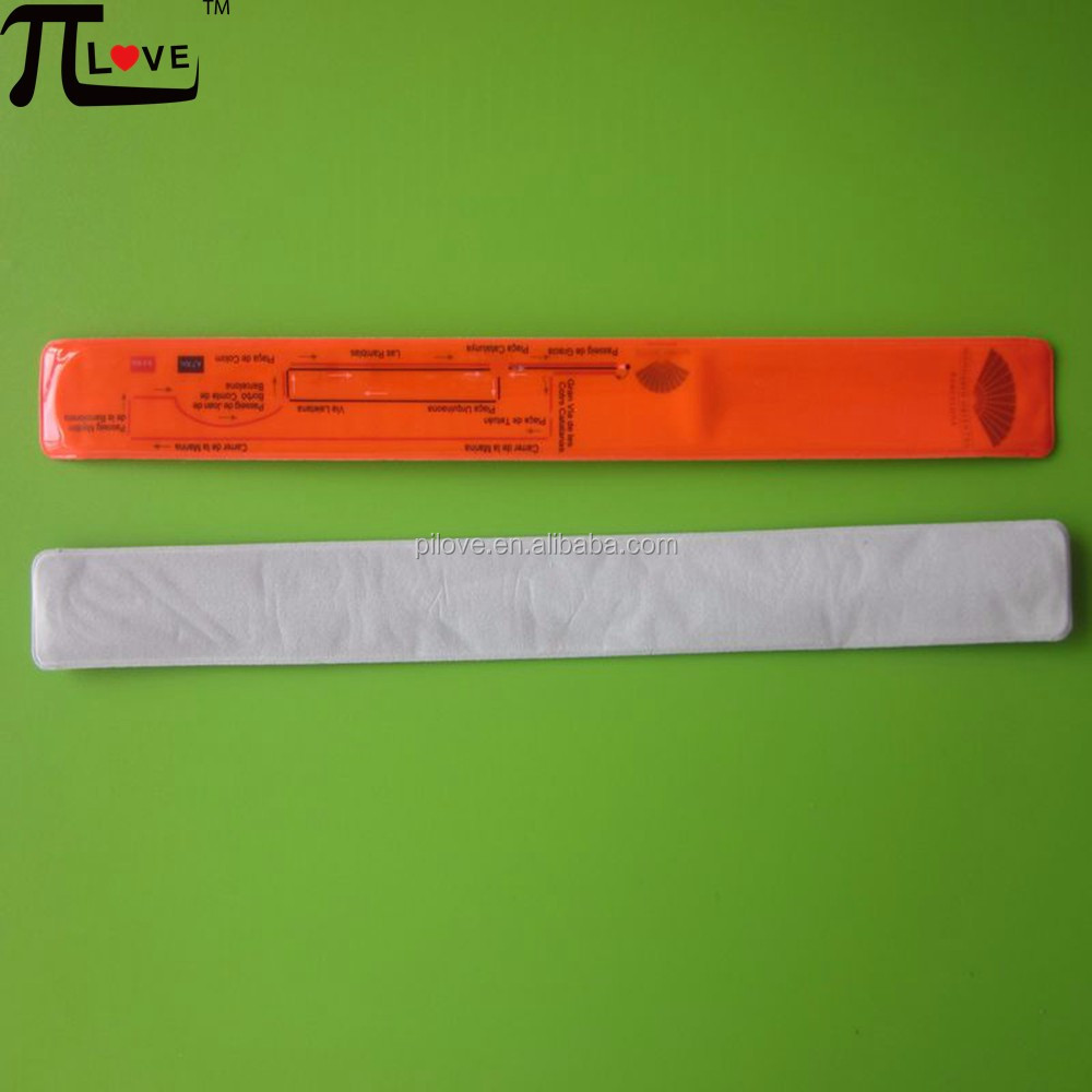 Factory manufacture 100% eco-friendly safety reflective hand band