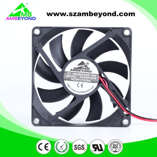 80x80x15mm 12v small dc fan power transformer cooling fan