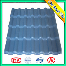 Non flammable no deformation asa tile roofing prices