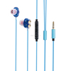 2017 newest Exhibition products Double Driver 3.5mm Stereo wireled earphone with microphone