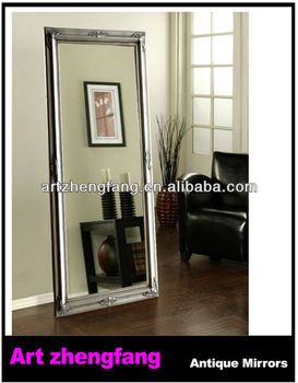 simple design delicate wooden framed full length decorative mirror frame standing mirror - Wood Frame Full Length Mirror