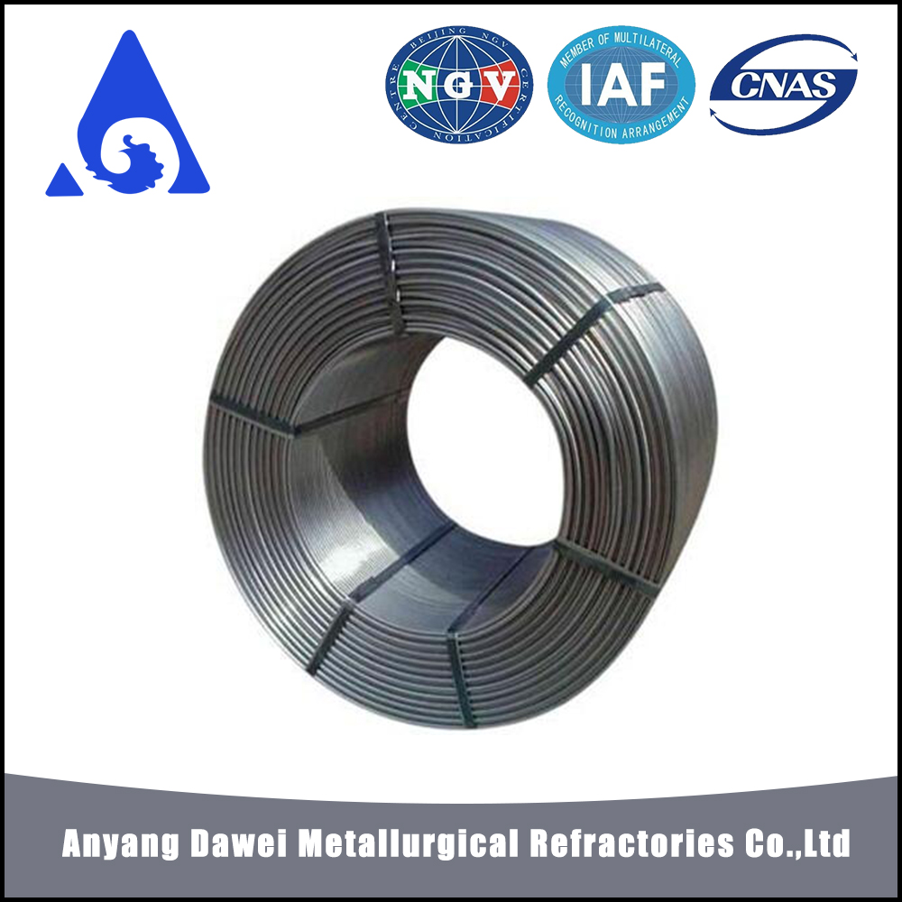 Factory Price calcium silicon / casi metal flux cored wire