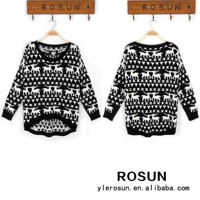 Promoción las mujeres suéter intarsia, Compras online de las ...