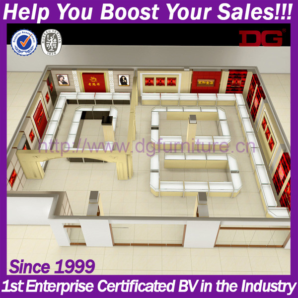 Attractive Jewellry Showroom Store Interior Design Ideas Jewellery Shops