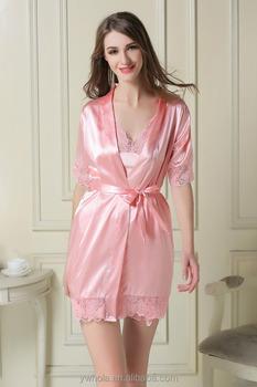 Silk Night Gown