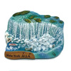 Tourist fridge magnet polyresin New York souvenir fridge magnet