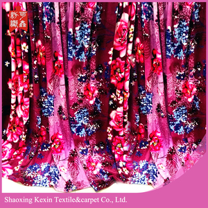 wholesale100% polyester fabric flannel