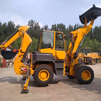1 6 Ton High Quality Big Brand Wheel Backhoe Loader For Sale With 0 2cbm  Backhoe Bucket - Buy Loader,Backhoe Loader,Wheel Loader Product on