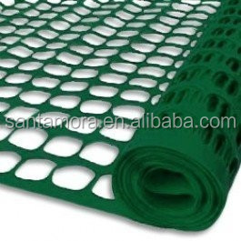 Plastic PVC Guardian Safety Fence movable folding visual barriers for garden
