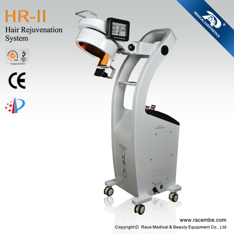 new hair regrowth machine 650nm+808nm+LED light diode laser+LED/hair loss treatment for men