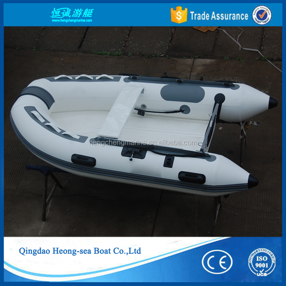 small rigid inflatable boat fiberglass fishing RIB 250 boat with CE certification