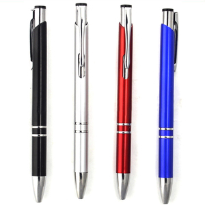 SML11803M-1 pure Color Classical office use metal ball point pen for promotion pens with custom logo