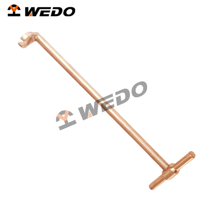 WEDO high quality Non Sparking T-Handle Wrench, offer OEM service, GS/FM/UKAS/ISO9001 certificates