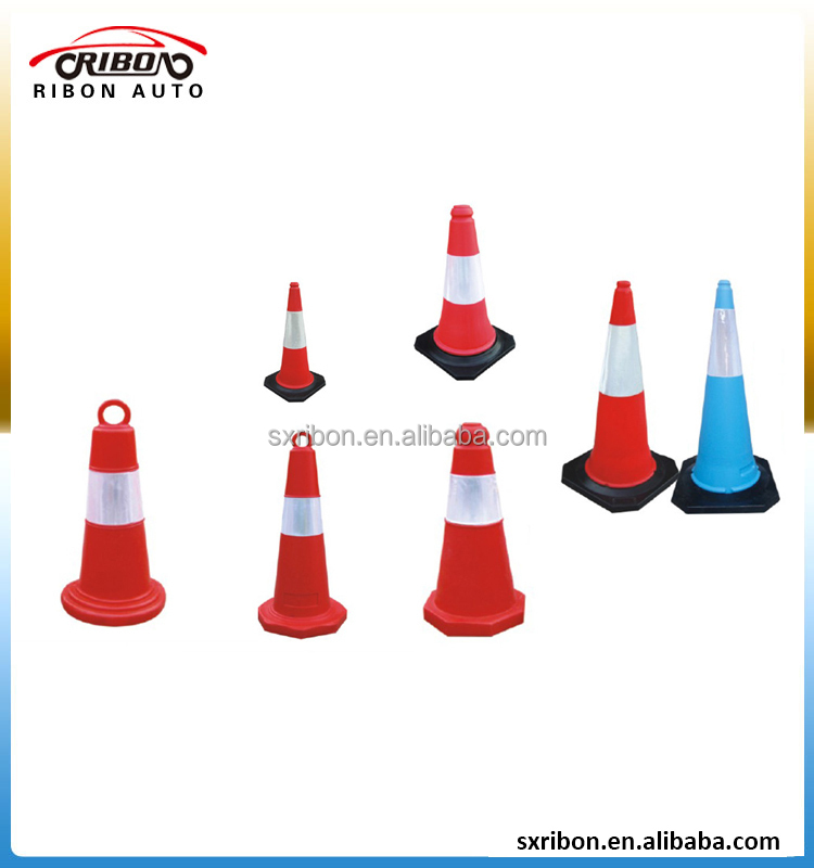 high quality 28 inch flexible pvc traffic cone for warning