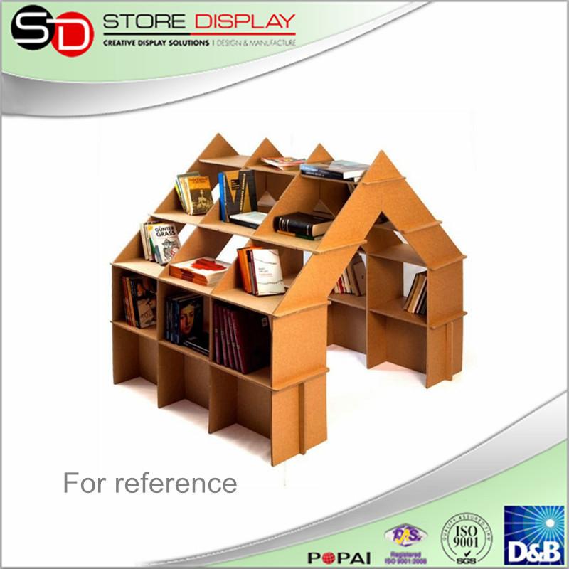 Boek Bar Plank Boek Display Standkartonnen Meubels Dubbelzijdige Tijdschrift Kast Pop Displaybibliotheek Boekenrek Buy Boek Display Stand In Het