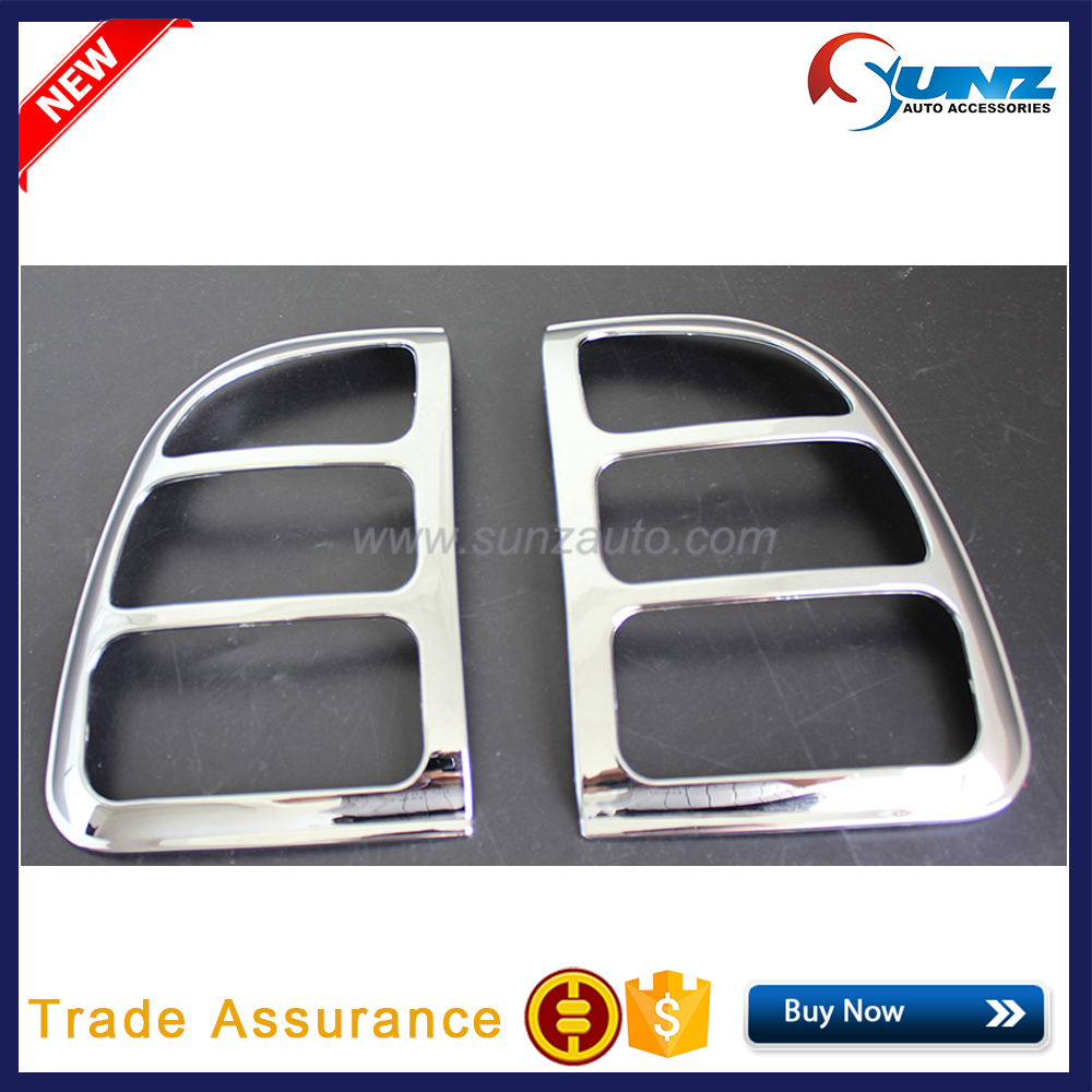 Tail Lamp Tail Light Cover ABS Chrome For Toyota Rav4 1996 to 2000 accessories