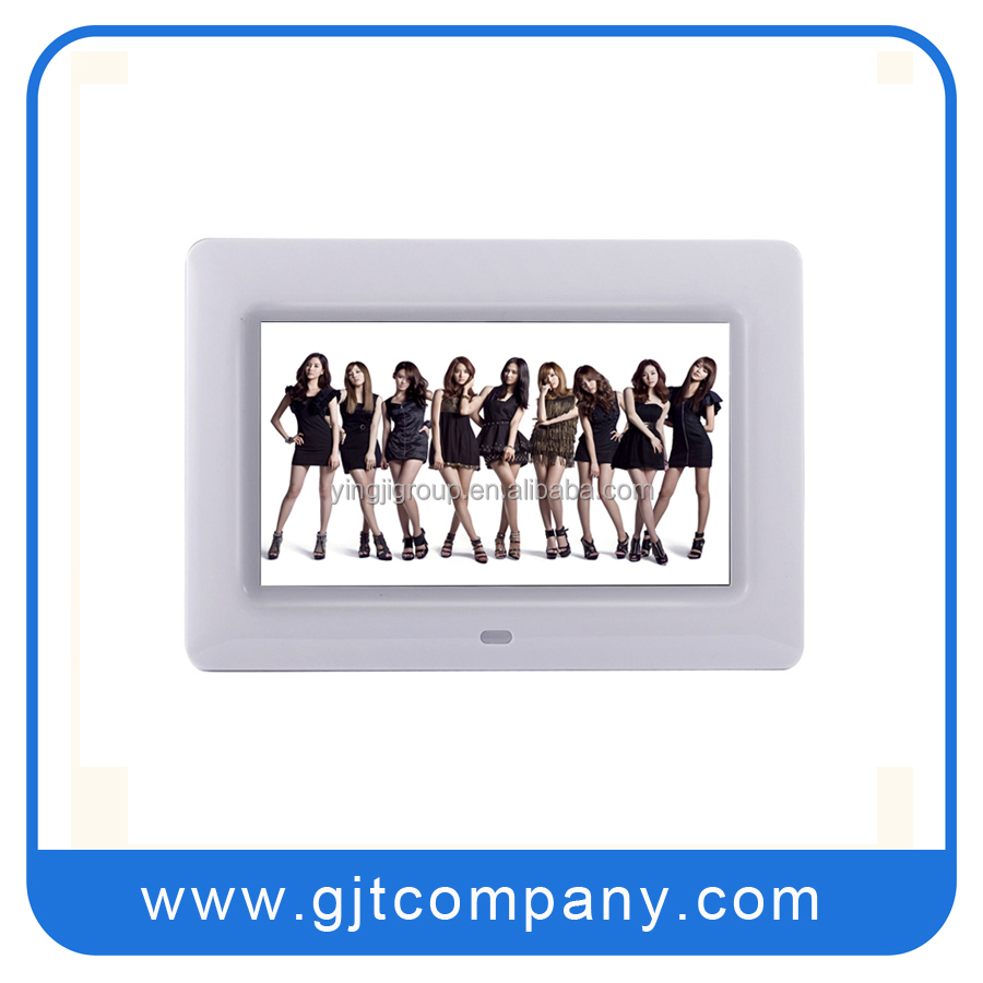 "oem factory with cheap digital picture photo viewer and 7"" digital photo frame"