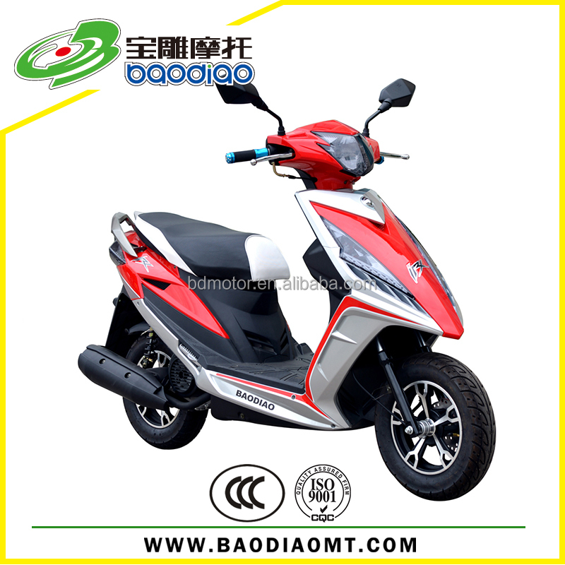 Moped Street Bike Chinese Cheap 4 Stroke Engine Gas Scooters 50cc ...