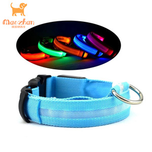 China manufacturer usb charging dog collar chargeable led flashing unique pet