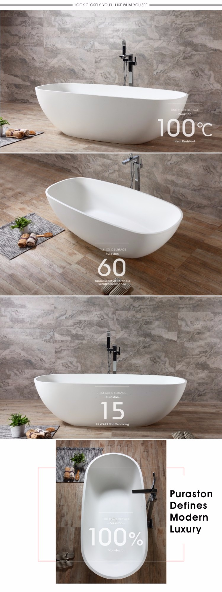 Artificial stone bathtubs cheap freestanding bathtub buy for Cheap free standing tubs