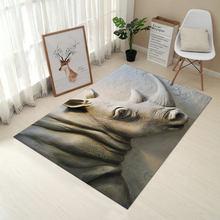 Креативный ковер RFWCAK Европейского типа с 3D принтом, коврик для прихожей, Противоскользящий коврик для ванной комнаты, впитывающий воду, кух...(Китай)