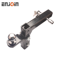 ENJOIN 8-Position Adjustable Trailer Hitch Ball Mount - 5000 lbs. GTW Capacity