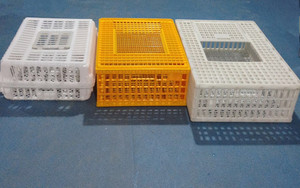 Strong plastic cage livestock transport cage for chicken transportation