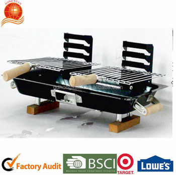 Japanese Easy Charcoal Grill For Camping Hongxuan Bbqg 319
