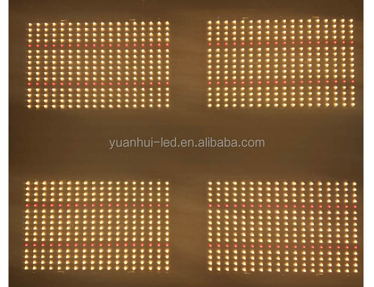 Yuanhui Best Verkopende Product 480W Hl 550 V2 Samsung Lm301b Pcb Board 288 Led Grow Light