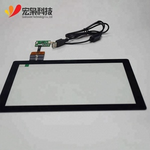 Explosion-proof USB/IIC 10.1 inch industry capacitive hmi touch screen