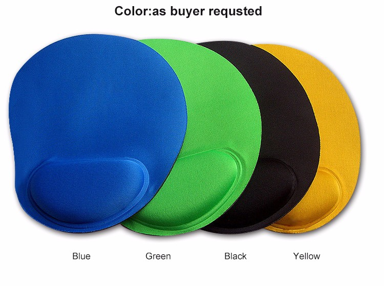Wrist Protect Optical Trackball PC Thicken Mouse Pad Support Wrist Comfort Mouse Pad Mat Mice for Game any Colors