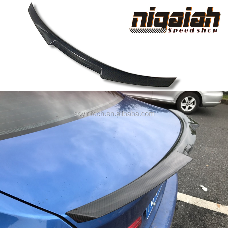 A5 Carbon fiber Beligium Style Rear spoiler wing for Audi A5 Coupe