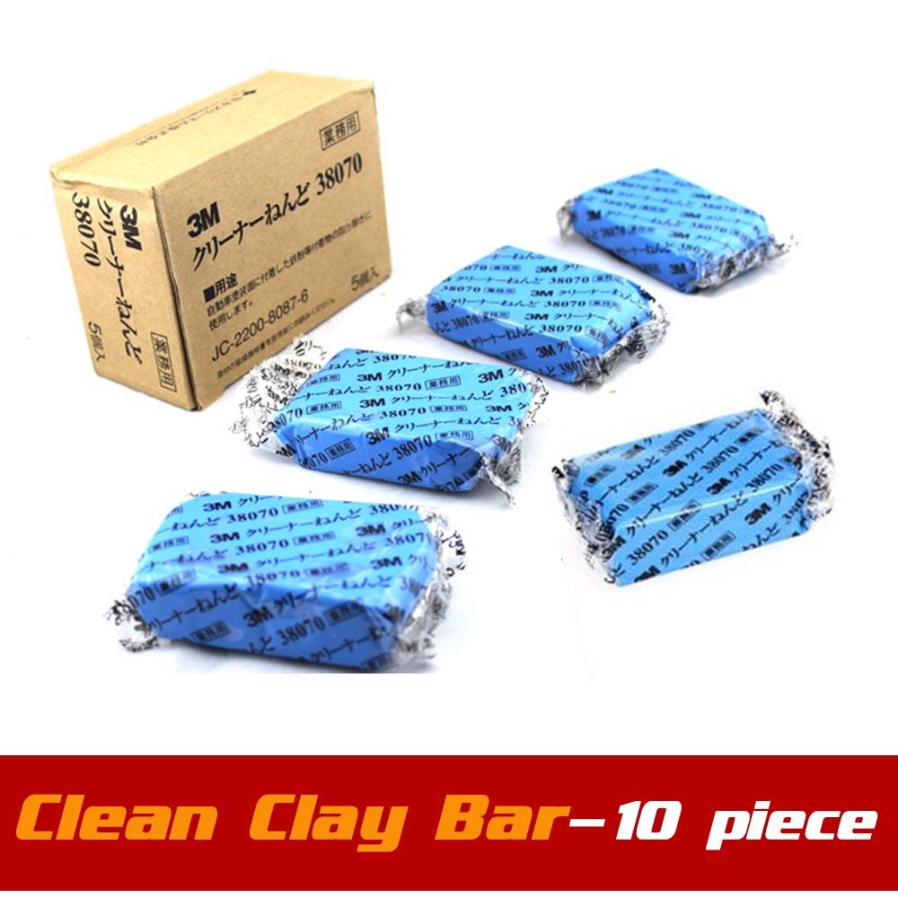 10pcs/lot 3M Clay Bar 180g Auto Detailing Magic Claybar