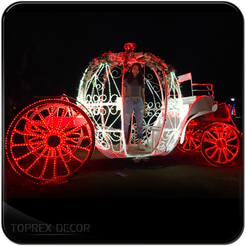light up used pumpkin wedding horse carriages for sale outdoor christmas decoration - Used Christmas Decorations For Sale