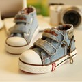 New 2016 Canvas Children Shoes Boys Sneakers Brand Kids Shoes for Girls Baby Jeans Denim Flat