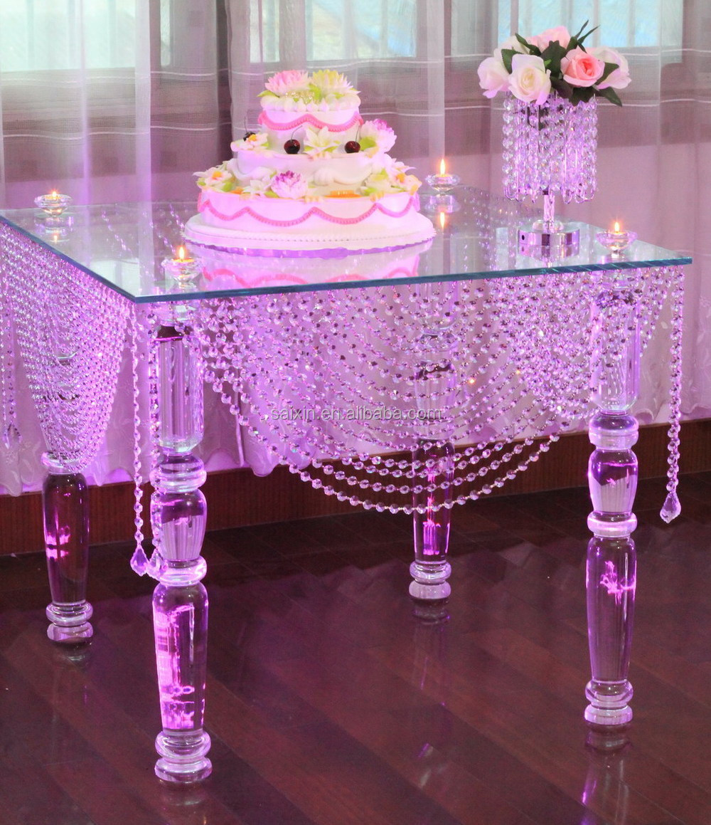 gorgeous crystal cake table event & hotel decorations - buy hotel