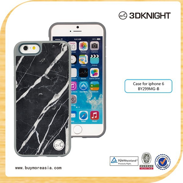 Thinnest for iphone 6 plus marble cover wooden cover