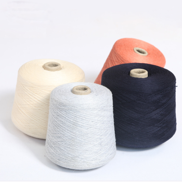 China factory direct selling smooth and softness acrylic wool blend yarn for sweater