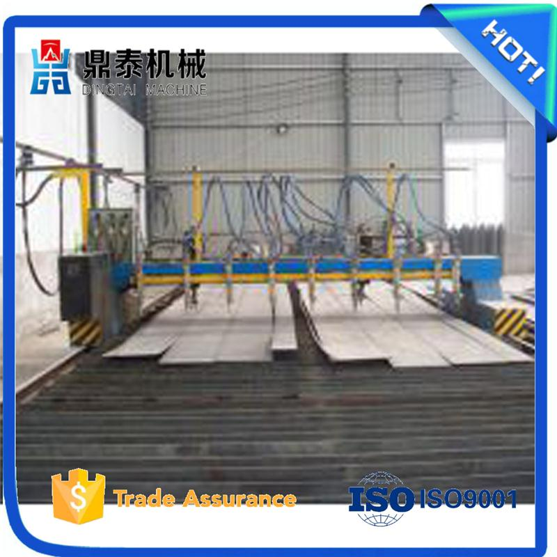 Metal steel sheet flame cutting machine used for steel structure production line