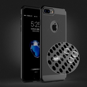 Newest Fashion Highly Protective Special Hard PC Breathable Mesh 360 Degree Full Cover PC Phone Case