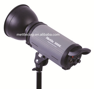 Mettle 300C Studio Strobe Light Flash Light for Photography and Advertising