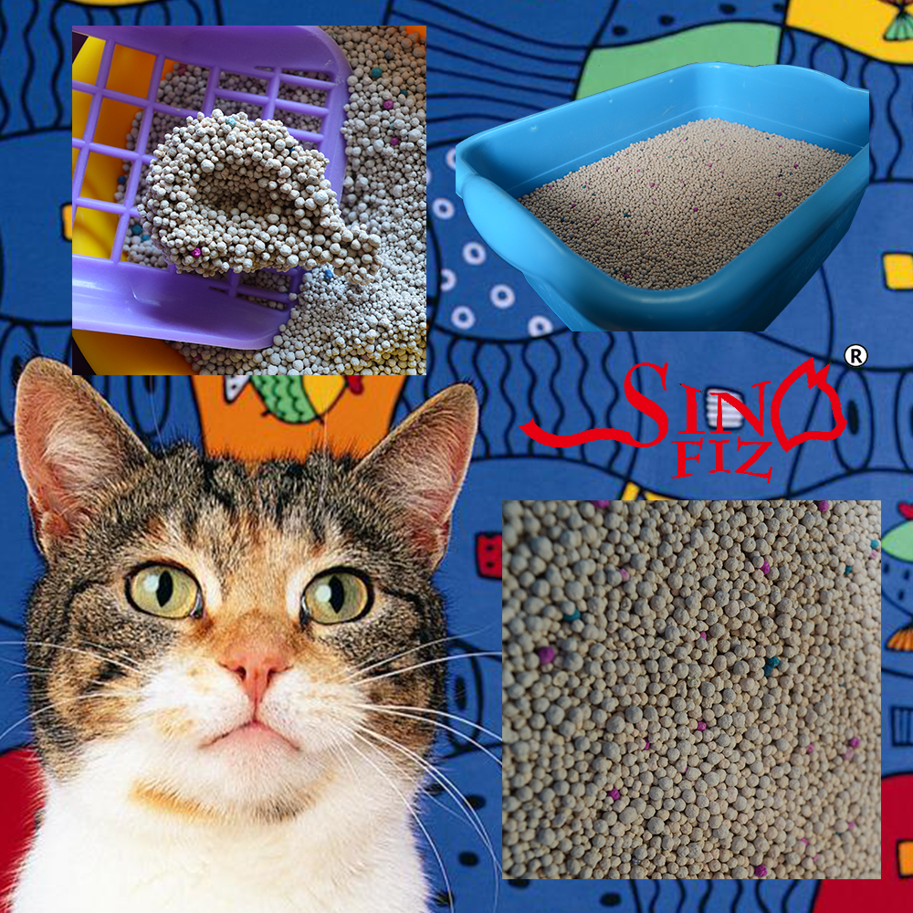 no litter gets carried into the apartment in the cat's paws retains odors fine-grained kitty litter cat sand