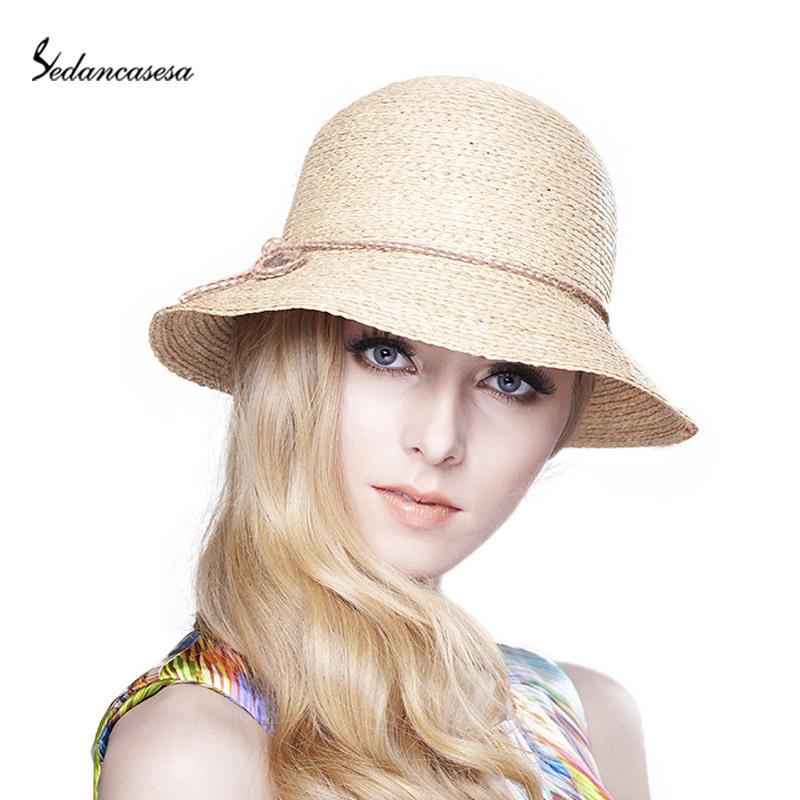 Women Visor Mesh Hat Liuliuliu Big Hat Wide Brimmed Floppy Foldable