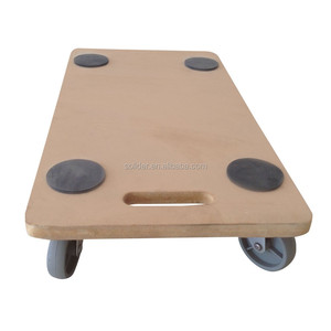 FW6030 4x3'pp Casters MDF wood mover dolly